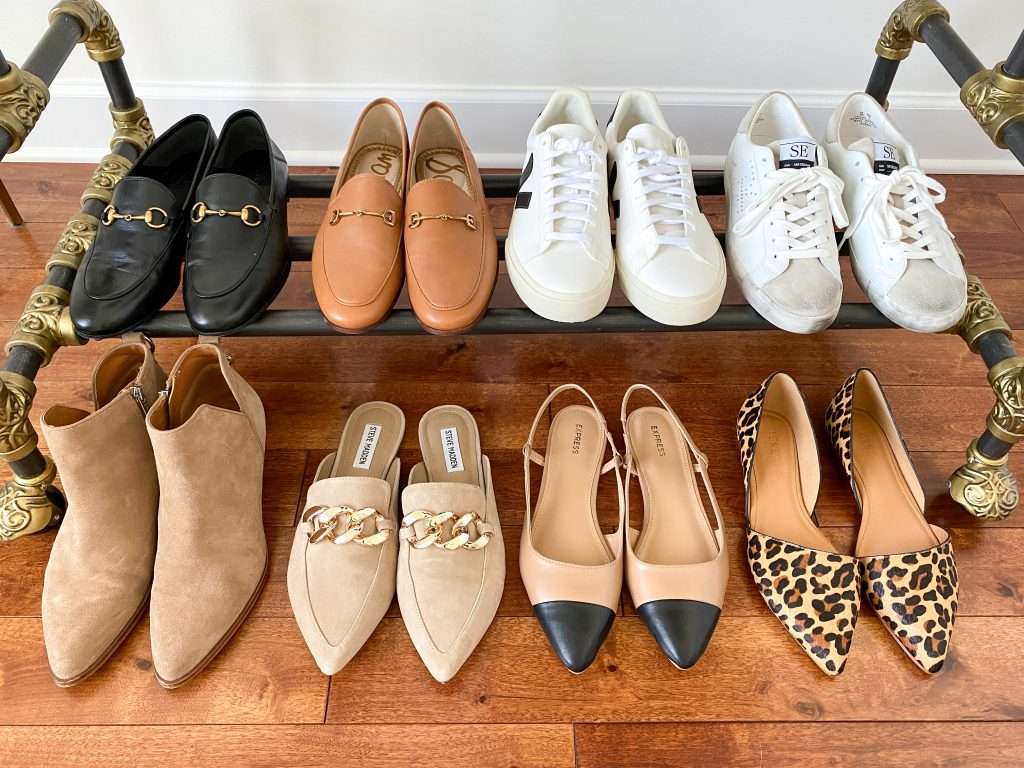 My 29-Piece Neutral Fall 2021 Capsule Wardrobe - shoes