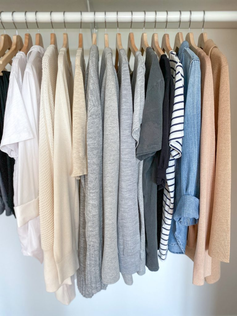 My 29-Piece Neutral Fall 2021 Capsule Wardrobe - tops