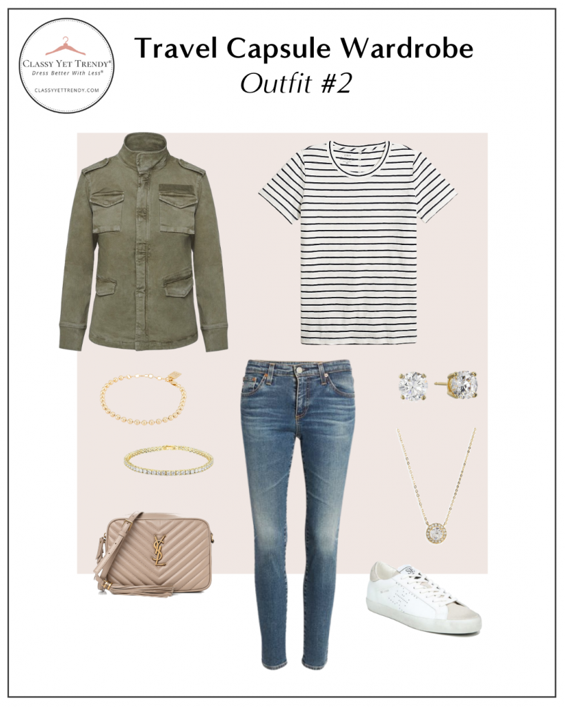 TRAVEL CAPSULE WARDROBE - OUTFIT 2