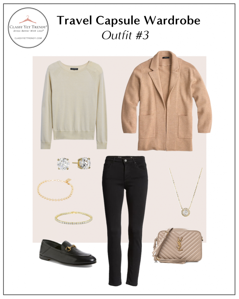 TRAVEL CAPSULE WARDROBE - OUTFIT 3