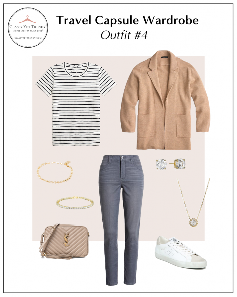 TRAVEL CAPSULE WARDROBE - OUTFIT 4