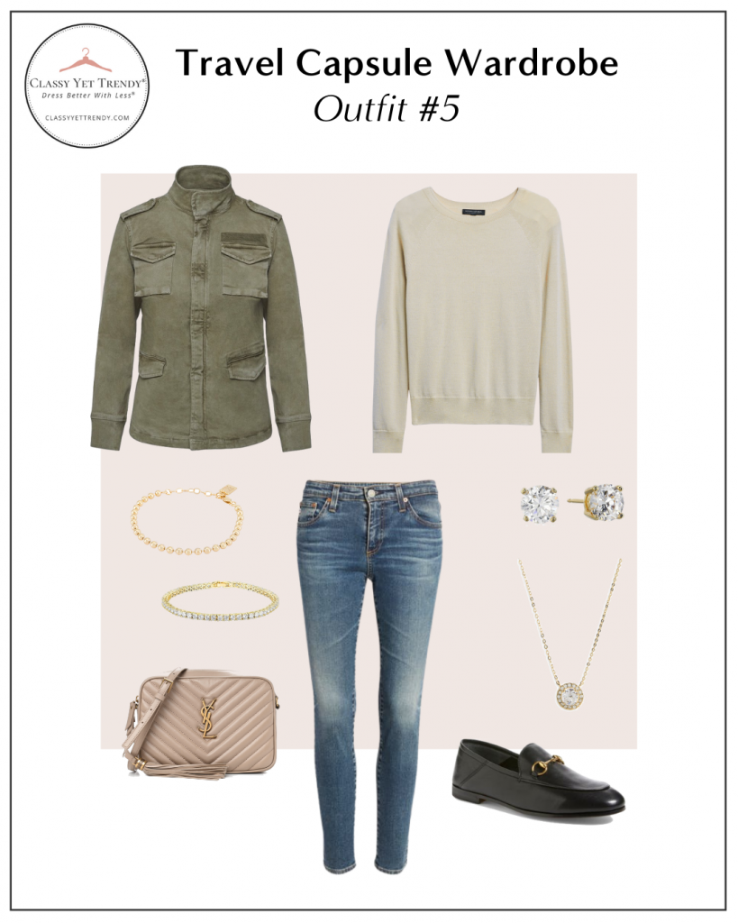 TRAVEL CAPSULE WARDROBE - OUTFIT 5