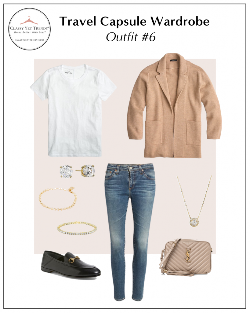 TRAVEL CAPSULE WARDROBE - OUTFIT 6