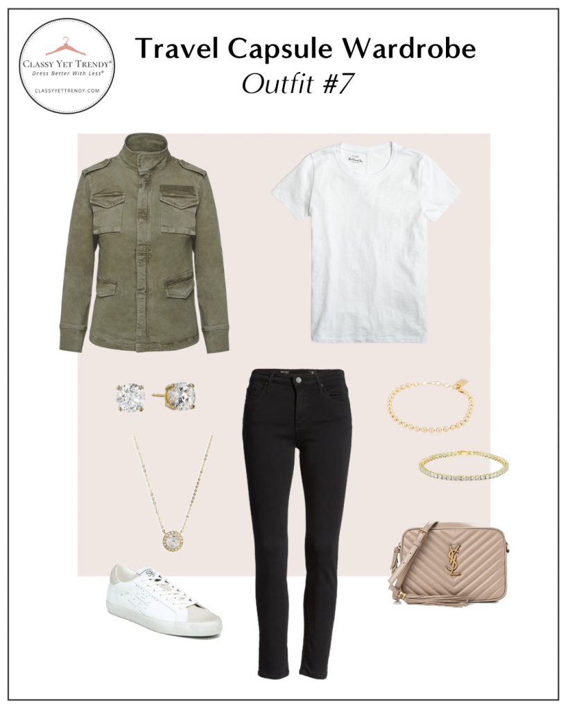 TRAVEL CAPSULE WARDROBE - OUTFIT 7