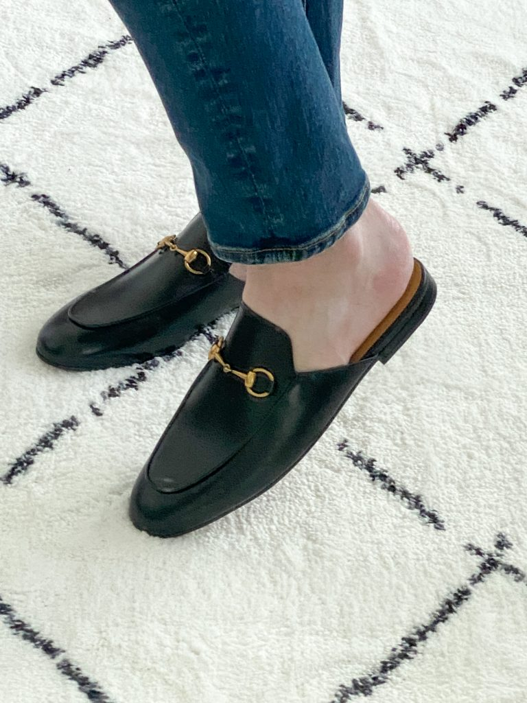Try-On Session September 2021 - Gucci Princetown Mules