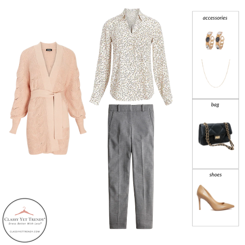 Workwear Capsule Wardrobe Fall 2021 outfit 1