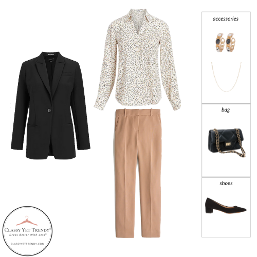 Workwear Capsule Wardrobe Fall 2021 outfit 10
