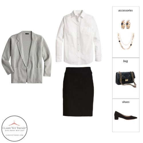 Workwear Capsule Wardrobe Fall 2021 outfit 23