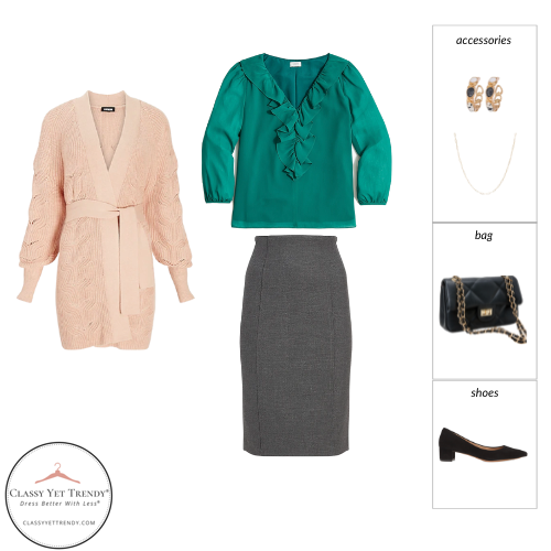 Workwear Capsule Wardrobe Fall 2021 outfit 35