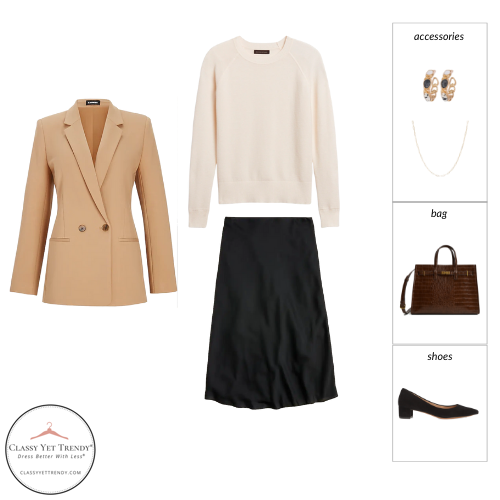 Workwear Capsule Wardrobe Fall 2021 outfit 59