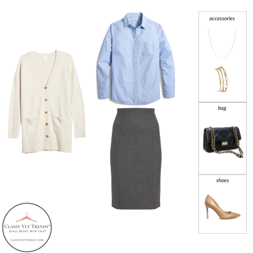 Workwear Capsule Wardrobe Fall 2021 outfit 69