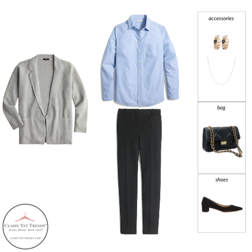 Workwear Capsule Wardrobe Fall 2021 outfit 76
