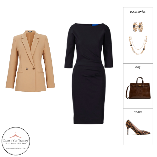 Workwear Capsule Wardrobe Fall 2021 outfit 79