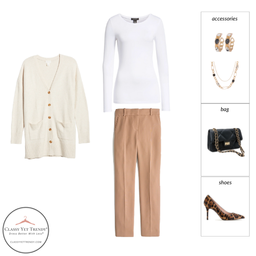 Workwear Capsule Wardrobe Fall 2021 outfit 93