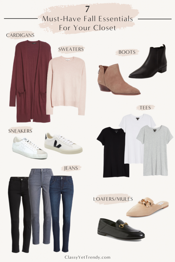 7 Must Have Fall Essentials For Your Closet