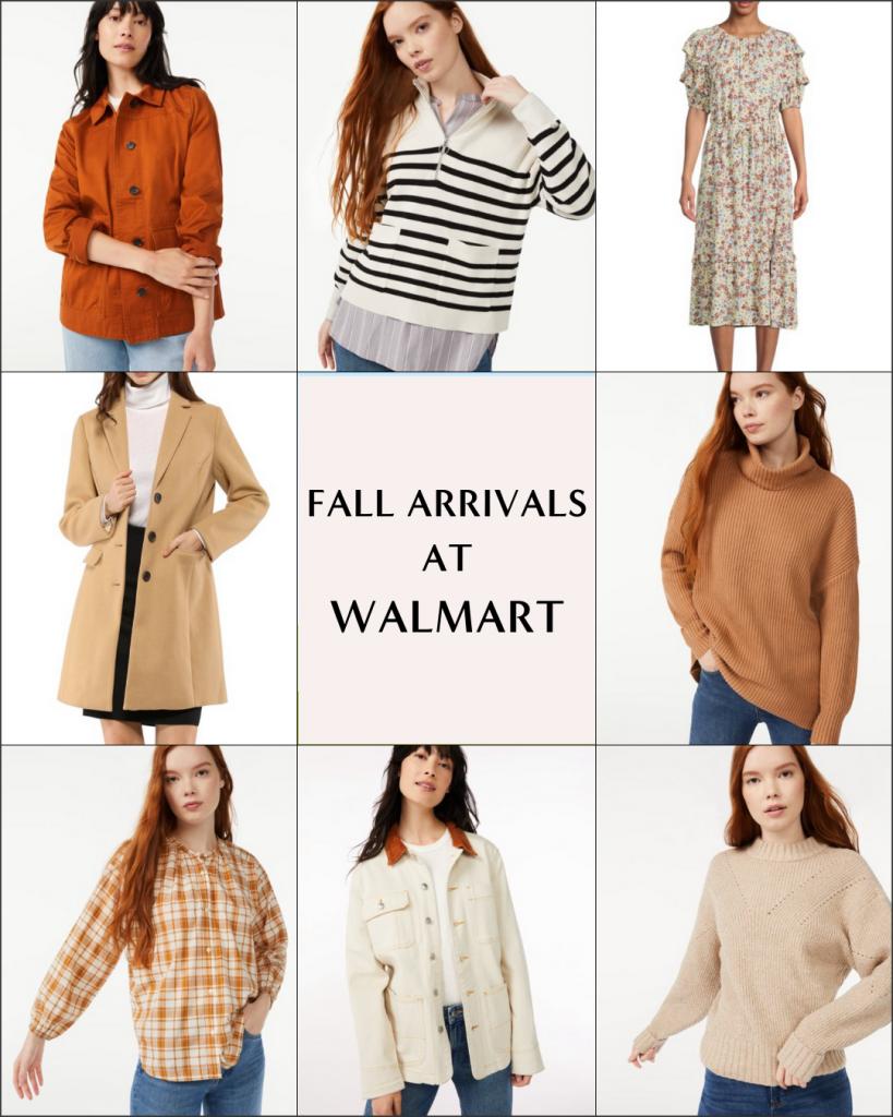 FALL ARRIVALS AT WALMART - OCT 2021