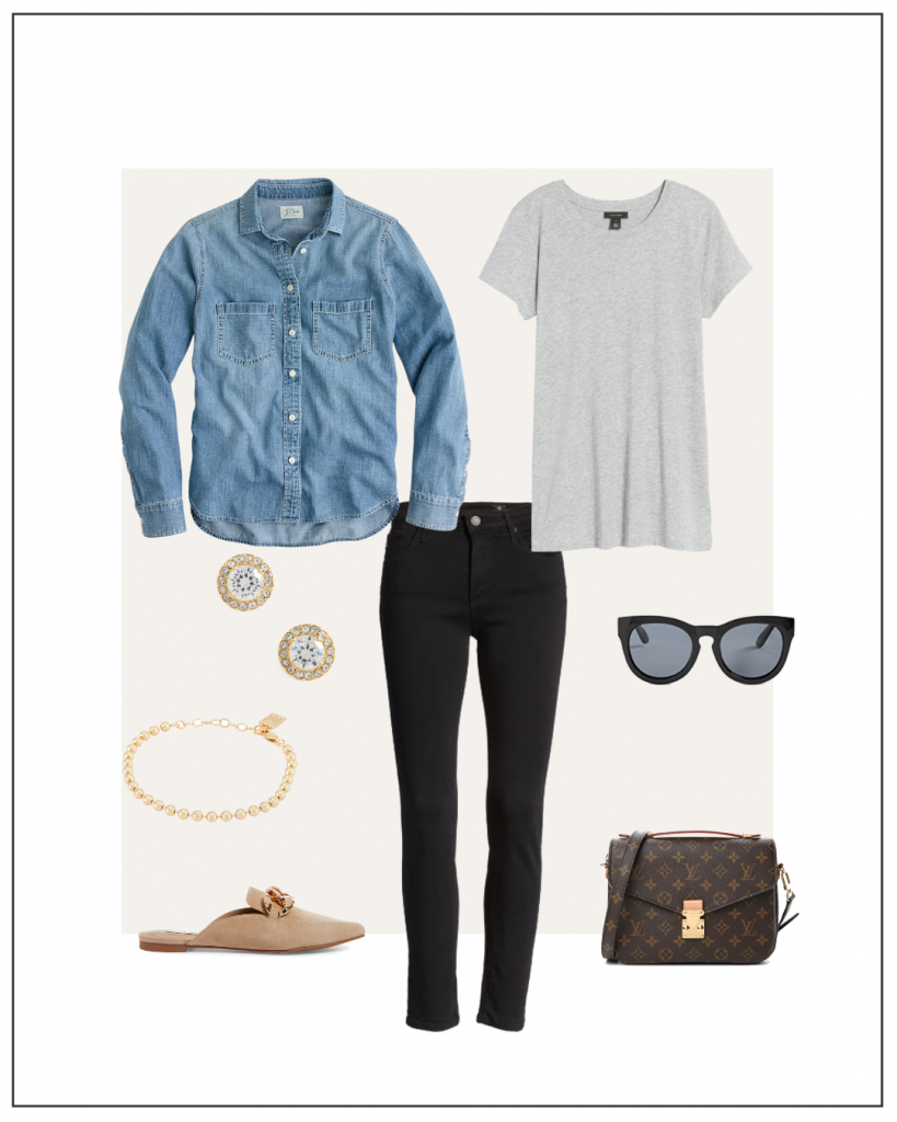 MY FALL 2021 NEUTRAL CAPSULE WARDROBE WEEK OF OUTFITS - OCT 6 - OUTFIT 6