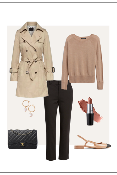 MY FALL 2021 NEUTRAL CAPSULE WARDROBE WEEK OF OUTFITS - OCTOBER 6 - OUTFIT 2