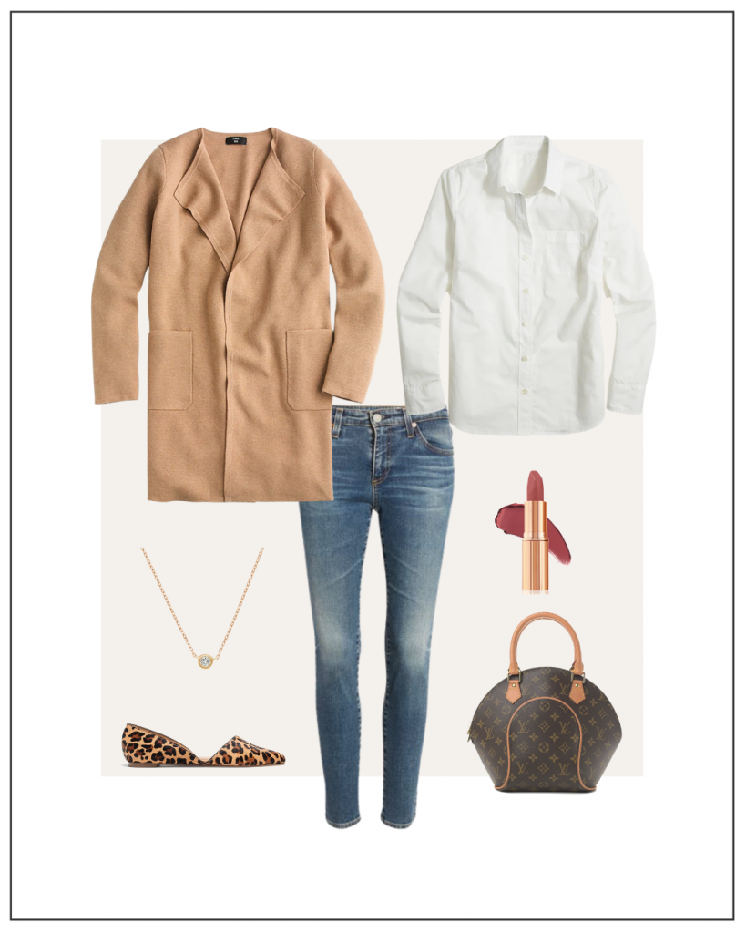 MY FALL 2021 NEUTRAL CAPSULE WARDROBE WEEK OF OUTFITS - OCTOBER 6 - OUTFIT 7