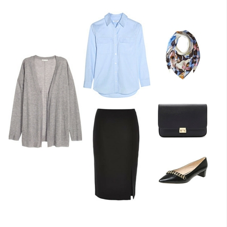 The Workwear Capsule Wardrobe: Spring 2016 Collection outfit 3
