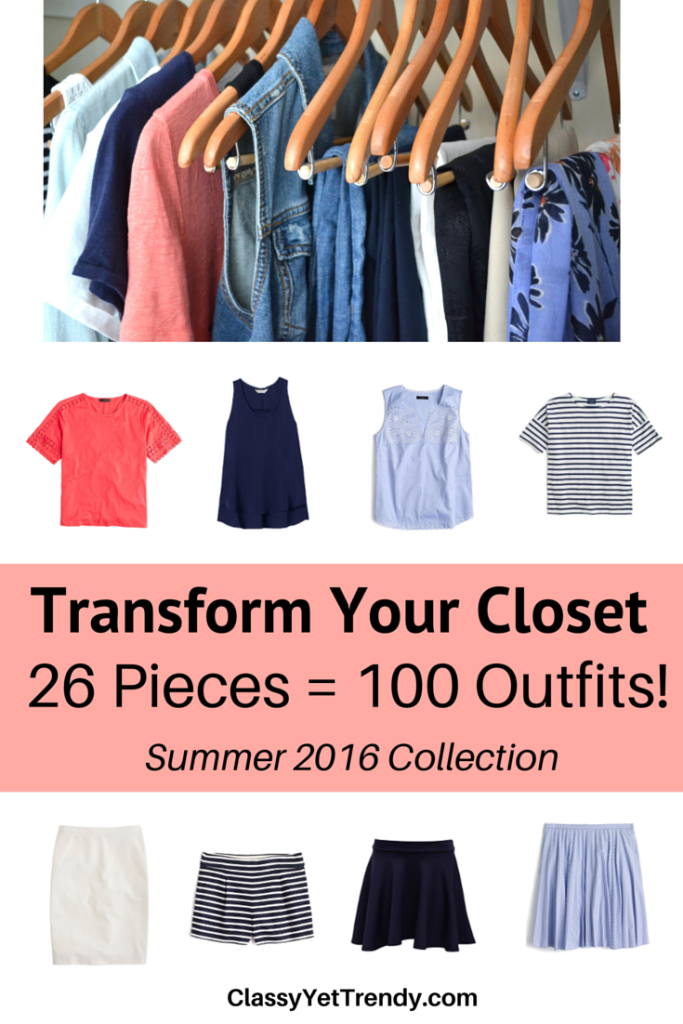Transform Your Closet- Summer 2016