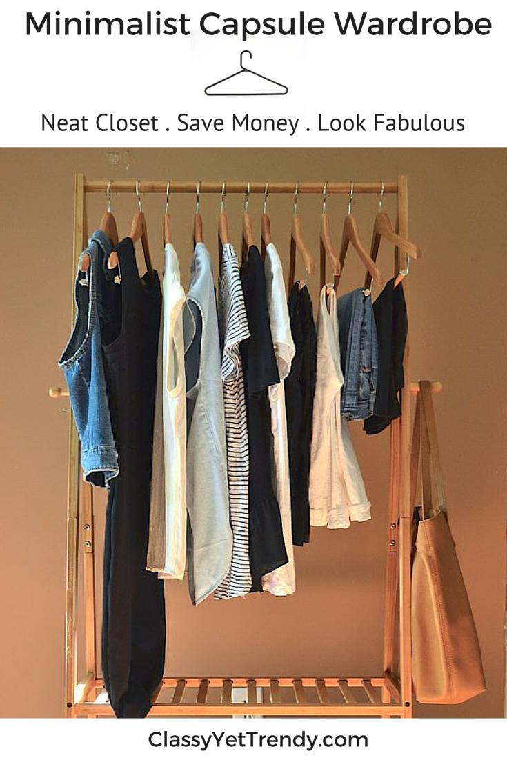 the minimalist capsule wardrobe e-book  summer 2016 collection