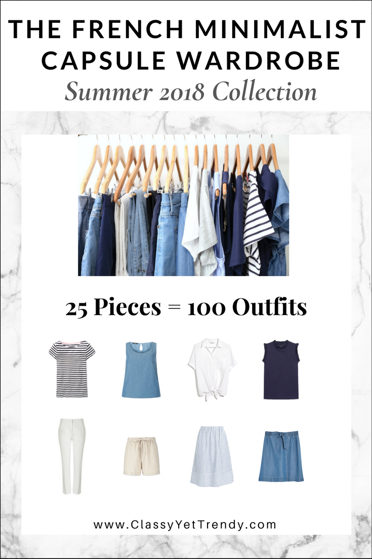 My 26-Piece Summer 2018 Capsule Wardrobe - Classy Yet Trendy d76793bea