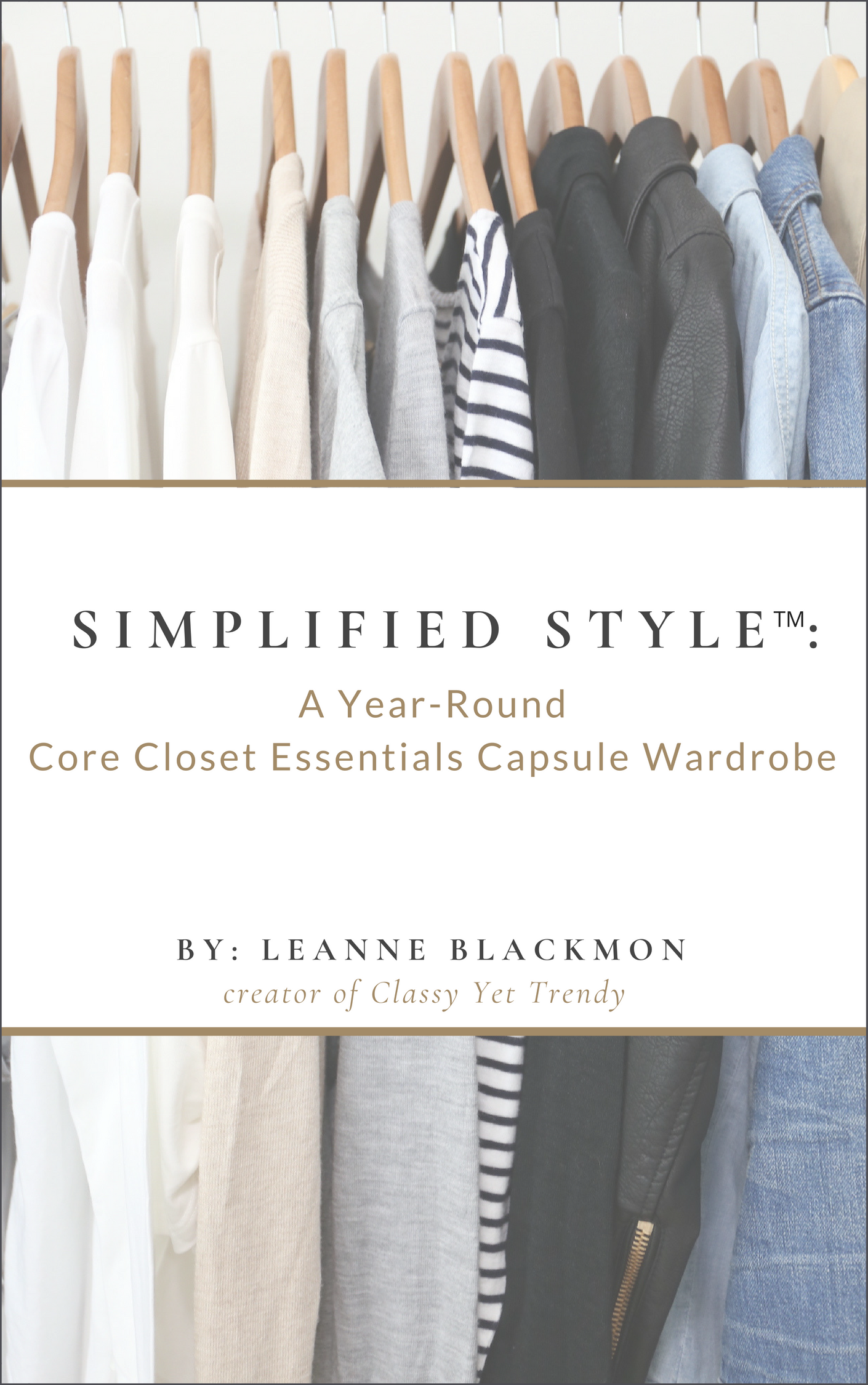 Simplified Style: A Year-Round Core Closet Essentials
