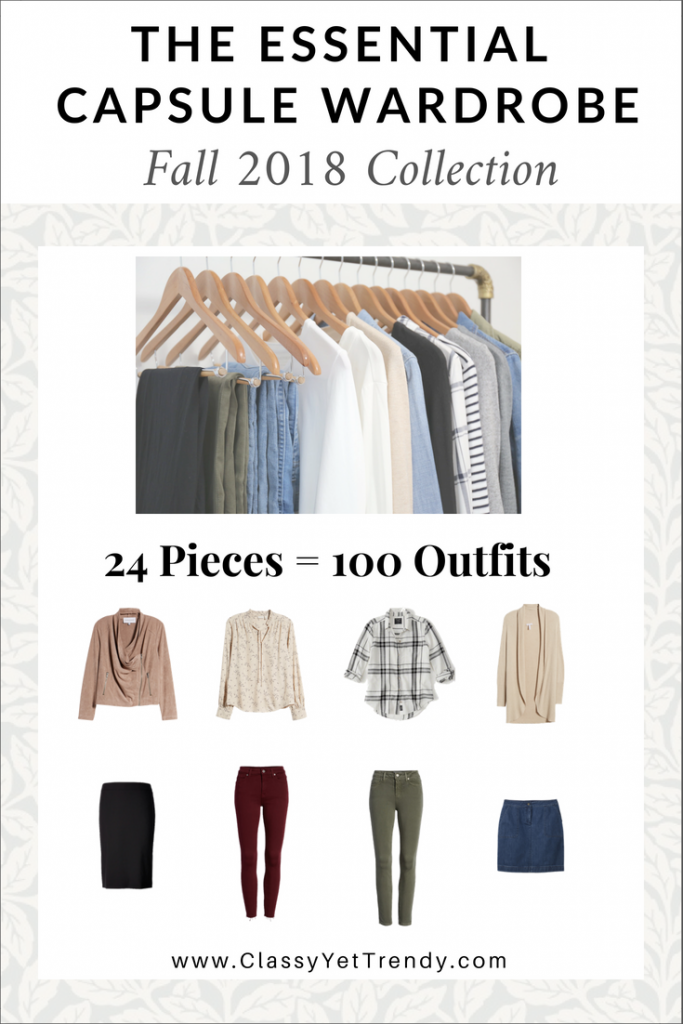 Essential Capsule Wardrobe Fall 2018 eBook