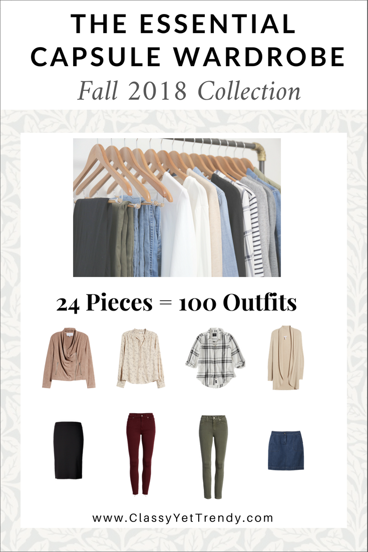 The Essential Capsule Wardrobe: Fall 2018 Collection