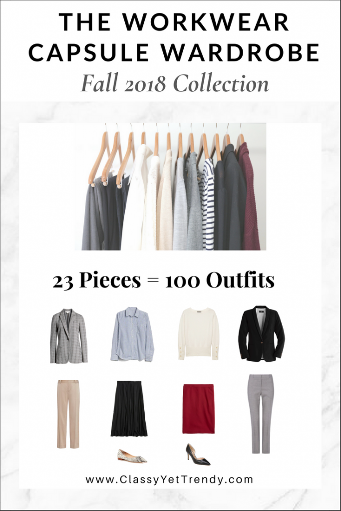 Workwear Capsule Wardrobe Fall 2018 eBook