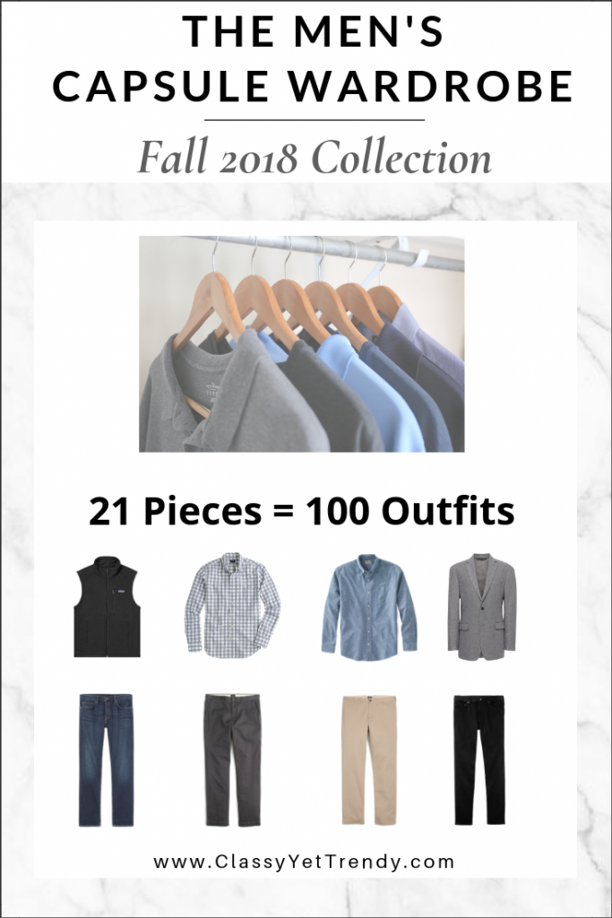 Mens Capsule Wardrobe Fall 2018 eBook