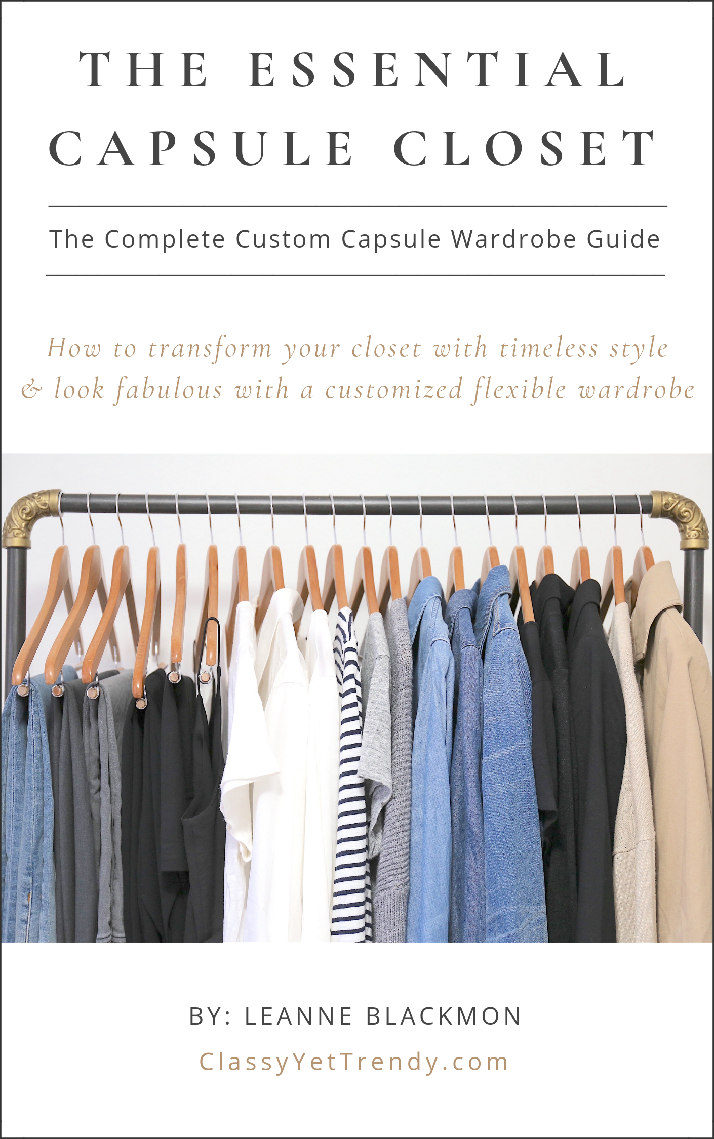 The Essential Capsule Closet cover