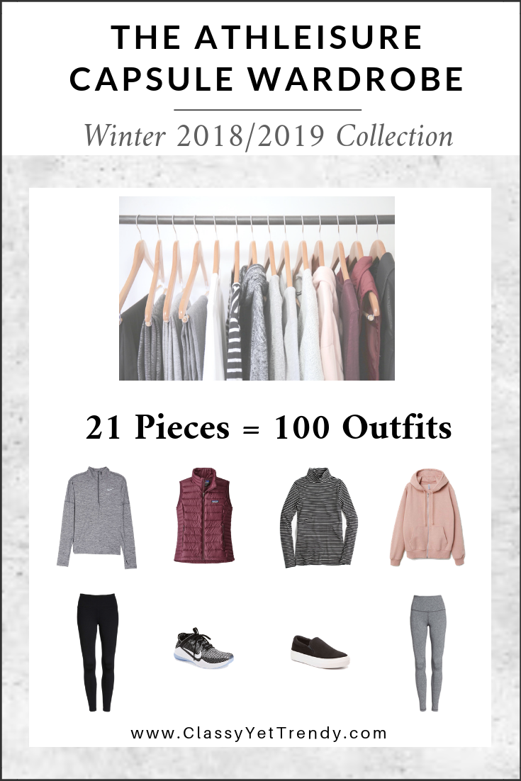 ATHLEISURE Capsule Wardrobe - Winter 2018-2019 Collection