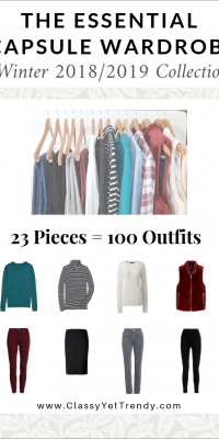 The Essential Capsule Wardrobe: Winter 2018/2019 Collection