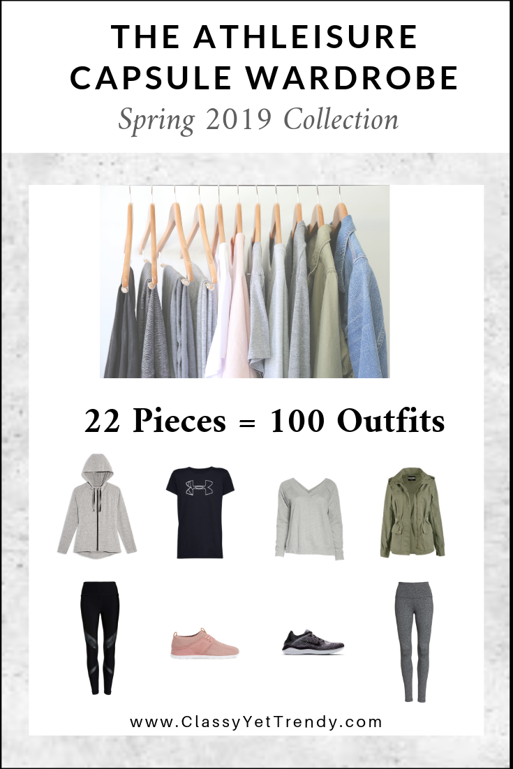 5d65a50d33d7d The Athleisure Capsule Wardrobe: Spring 2019 Collection - Classy Yet ...