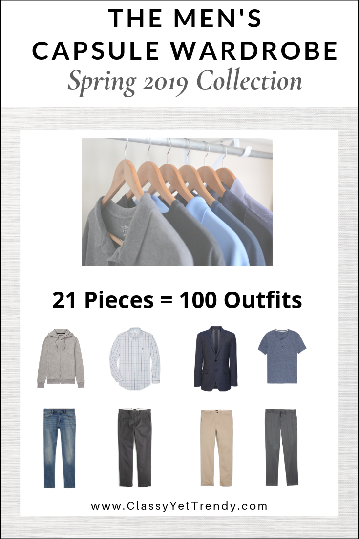 Mens Capsule Wardrobe Spring 2019 eBook