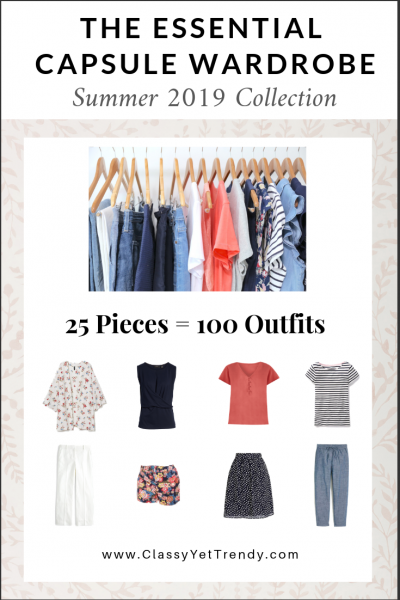 Essential Capsule Wardrobe Summer 2019 eBook