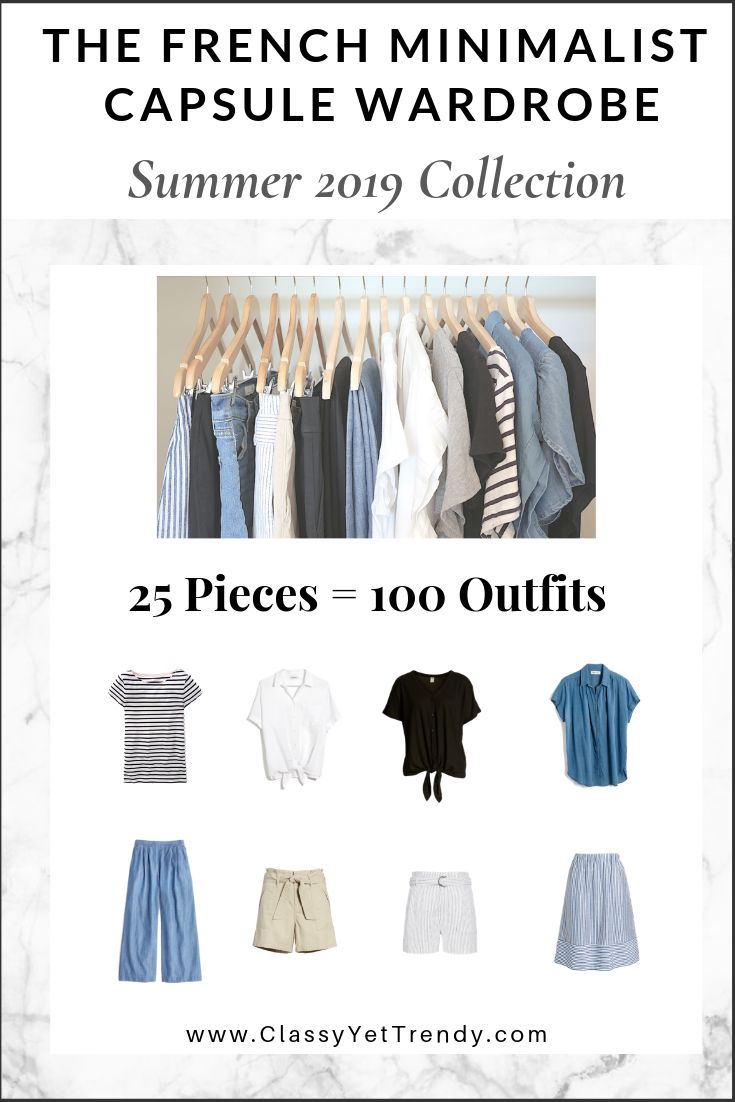 French Minimalist Capsule Summer 2019 eBook