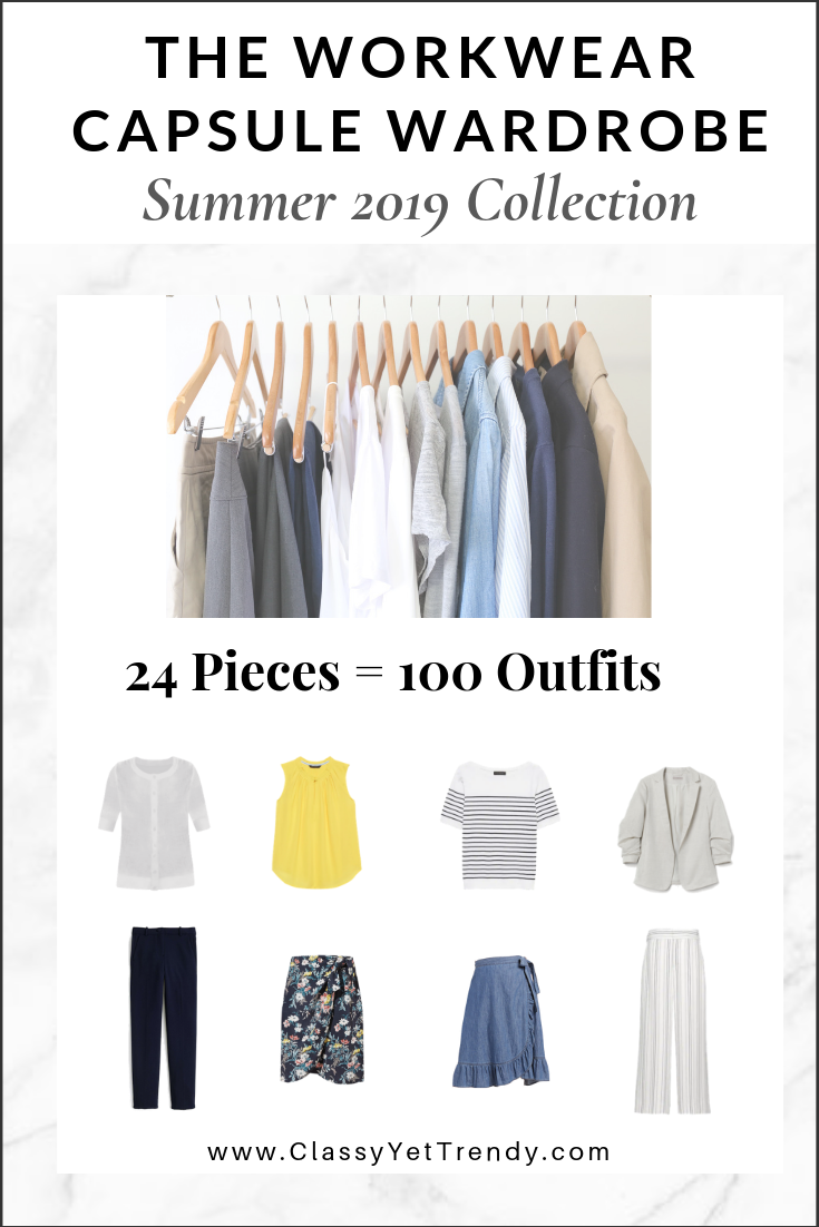 Workwear Capsule Wardrobe Summer 2019 eBook