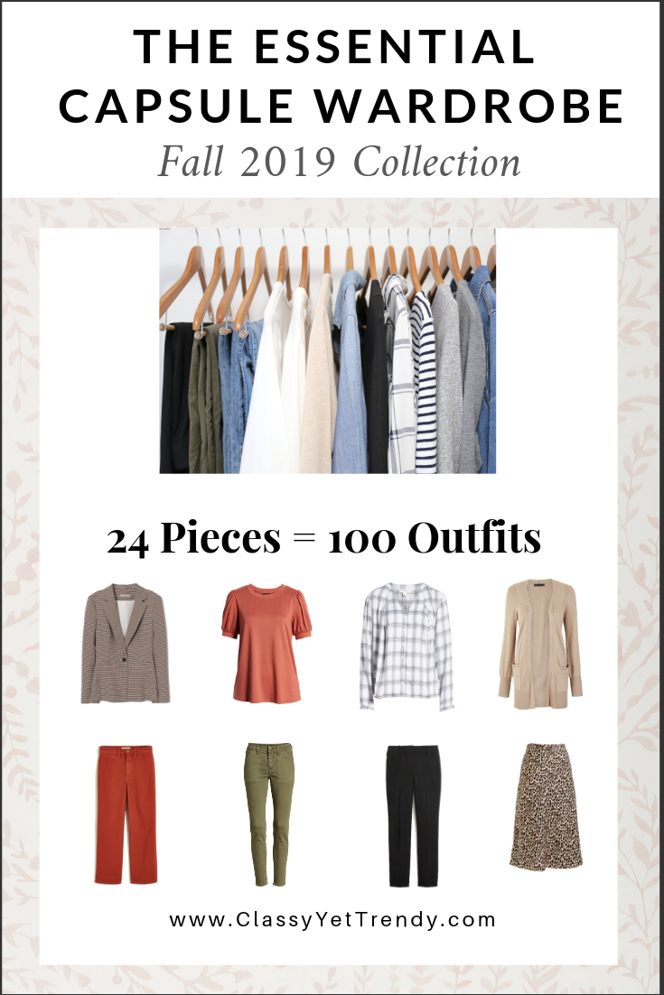 Essential Capsule Wardrobe Fall 2019 Collection