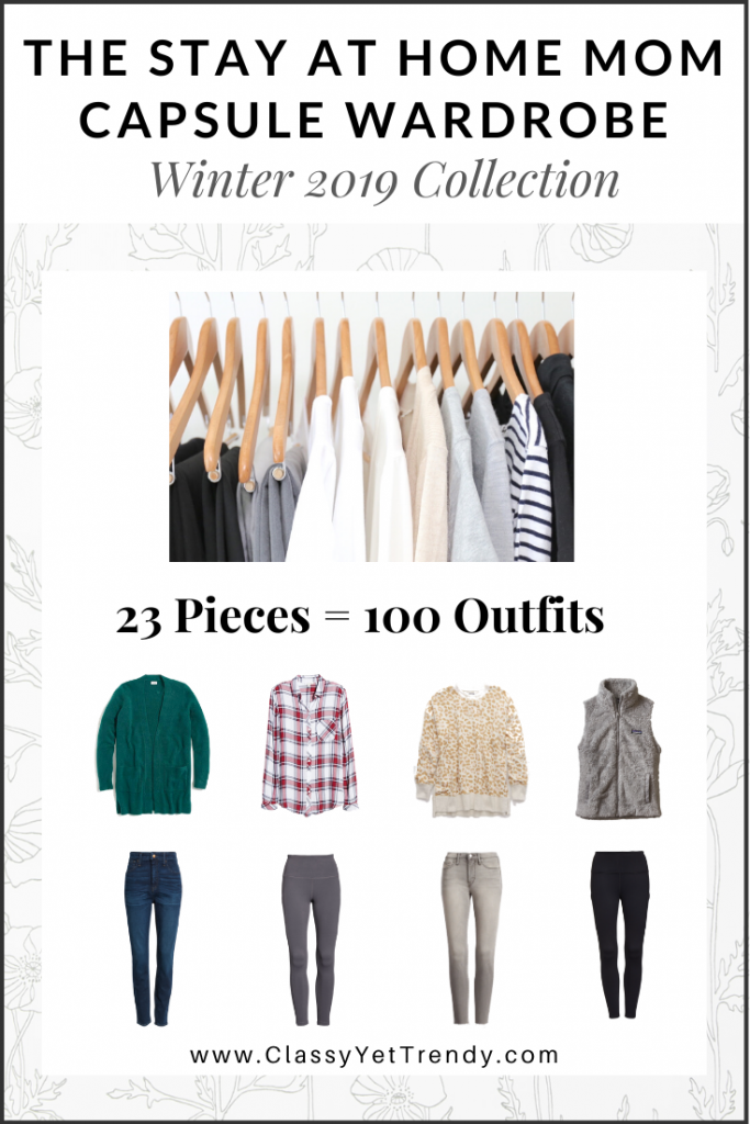 Stay At Home Mom Capsule Wardrobe Winter 2019 cover