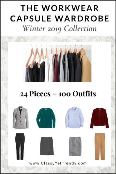 The Workwear Capsule Wardrobe: Winter 2019 Collection