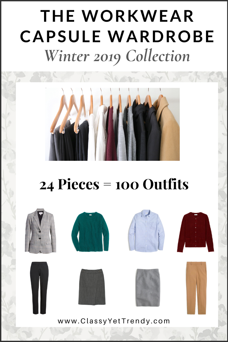Workwear Capsule Wardrobe Winter 2019