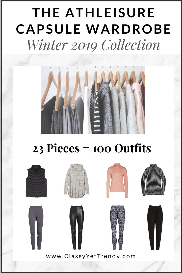 Athleisure Capsule Wardrobe Winter 2019 eBook