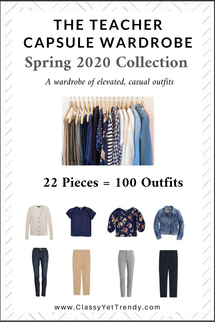 Teacher Capsule Wardrobe Spring 2020 cover