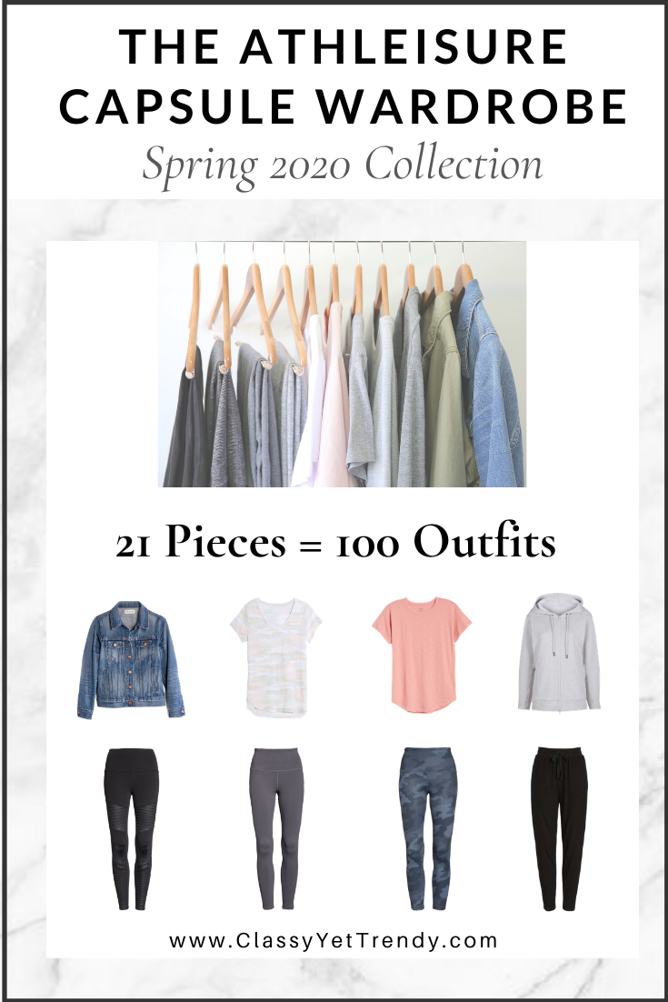Athleisure Capsule Wardrobe Spring 2020 eBook cover