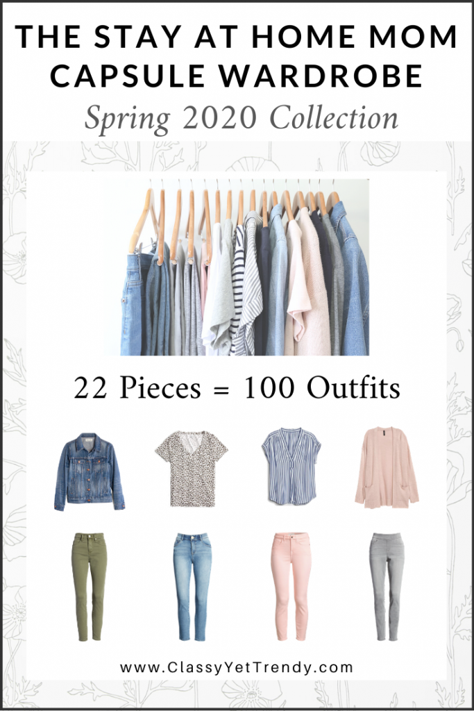 Stay At Home Mom Capsule Wardrobe Spring 2020 cover