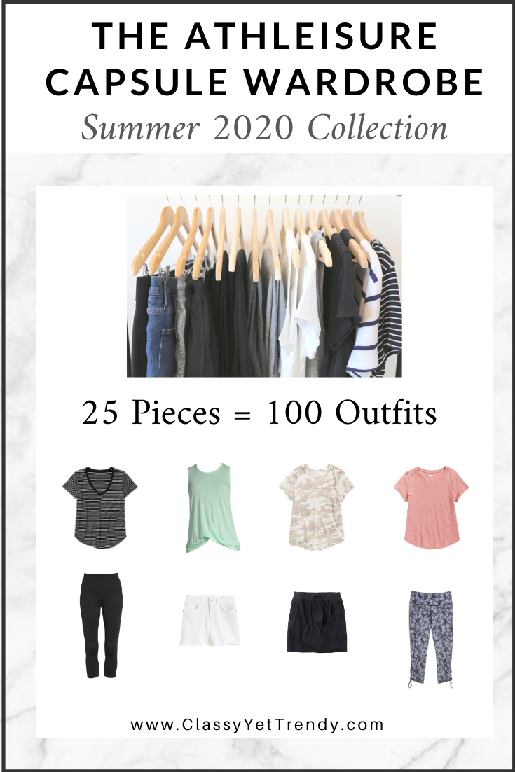 Athleisure Capsule Wardrobe Summer 2020 eBook cover