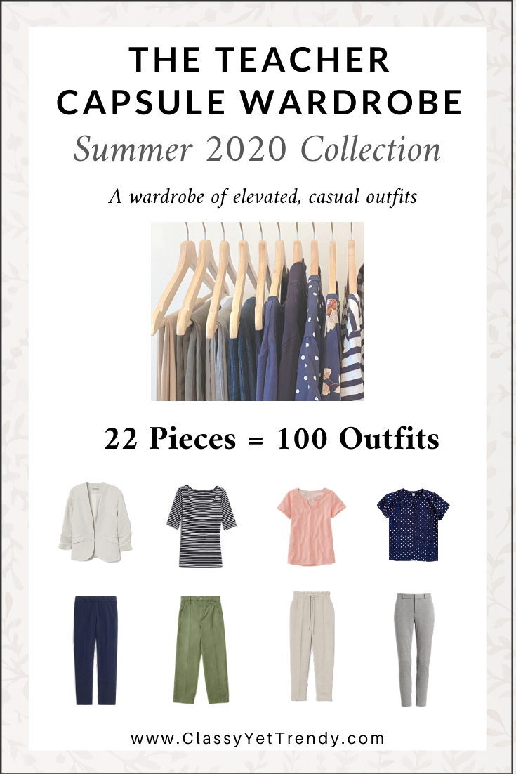 Teacher Capsule Wardrobe Summer 2020